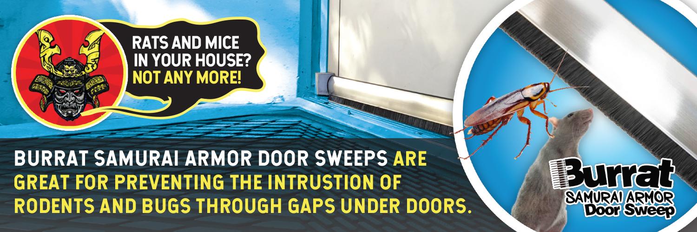 Pest Control Pest Proofing Door Sweep
