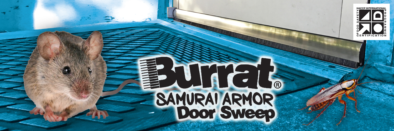 Burrat Stainless Pest Control Door Sweep
